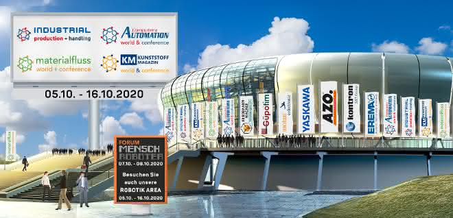 "Virtuelle Industriemesse ""INDUSTRIAL Production + handling"""