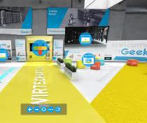 Roboter-Anbieter Geek+ eröffnet virtuelles 3-D Solution Center