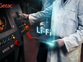 Getac bringt erstmals robuste Computerlösungen mit LiFi Technologie auf den Markt