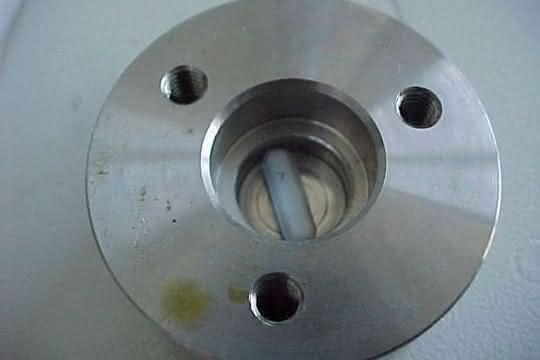 Dynamische Mischkammer mit Magnetrührstäbchen