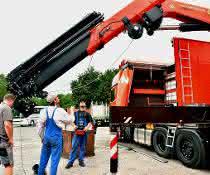 Mobilkran: Viessmann setzt auf Palfinger-Kran