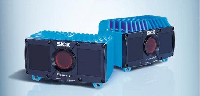 3D-Snapshot-Kameras: Behälter sicher im Blick