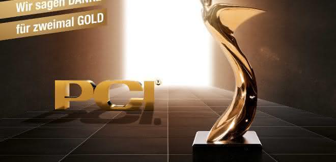 PCI zweifacher Preisträger des Architects' Darling Gold Award 2020
