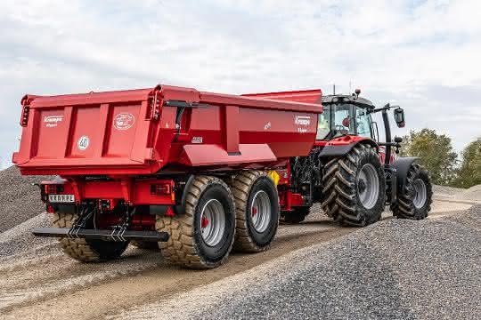 Neuer Krampe Schwerlast-Erdbaukipper Heavy Duty 550