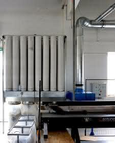 Filteranlage mit Ventilator
