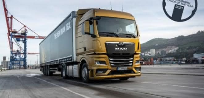 "MAN TGX ist ""International Truck of the Year 2021"""