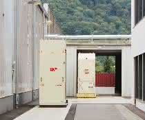Fit für automatisierten Material- und Warenfluss im Freien
