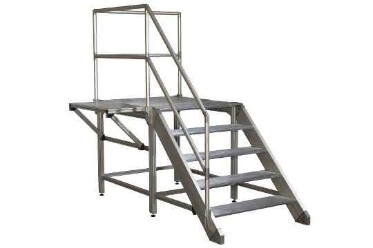 Treppen- und Arbeitsbühnen-System