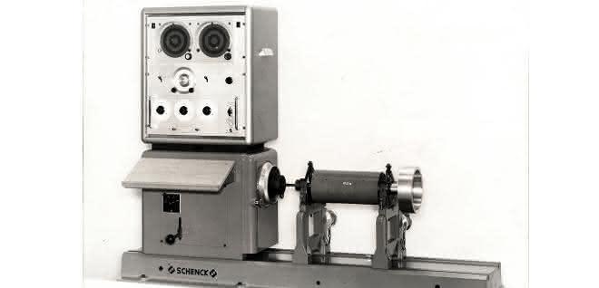 Auswuchtmaschine von 1963