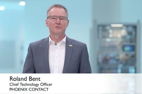 Roland Bent, Mitglied des Vorstands des ZVEI-Fachverbands Automation