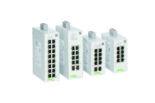 Lean-Managed-Switches von Wago