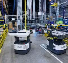 Fördertechnik: Automatisierte Warentransporte mit Open Shuttles
