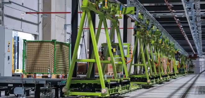 Automatisierung: Ersatzteile effizient gelagert