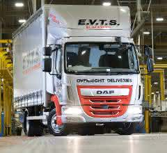 Jubiläums-Fahrzeug: Leyland Trucks baut den 200.000 DAF LF