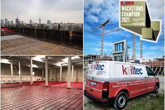 Advertorial: keiltec - Der Spezialist für Projektierung und Bau von Flächentemperierung