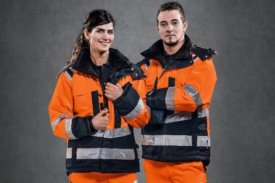 Warnschutzkleidung für Herbst und Winter