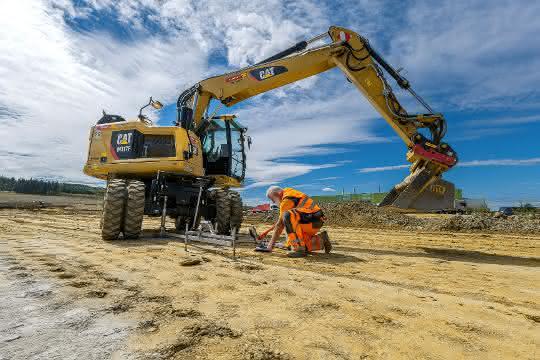 Baumaschinen: Eine Million Kubikmeter Erde bewegen