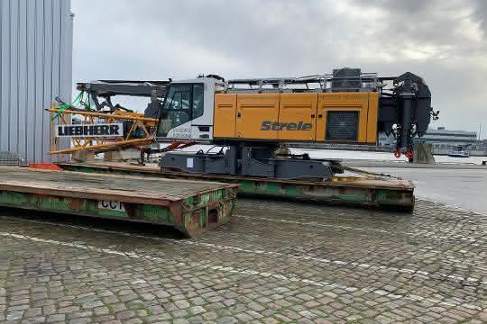 Stena Line verschifft 165 Tonnen-Kran