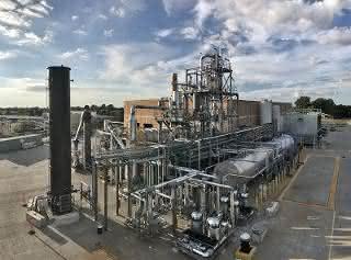 Alterras Kunststoffverflüssigungsanlage im industriellen Maßstab in Akron, Ohio.