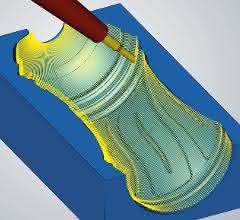 5-Achs-Radialbearbeitung