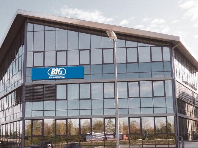 Unternehmensgebäude Big Daishowa