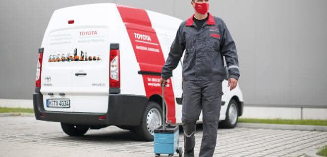 """Sicher gegen Corona"" – Toyota Material Handling erhält Qualitätssiegel"