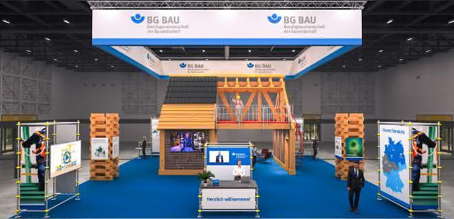 BG BAU lädt ein zum virtuellen Messestand
