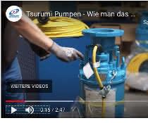 Tsurumi pumpt seine Videothek auf