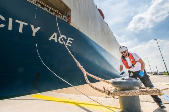 Rekord-Containerumschlag im Hafen Antwerpen