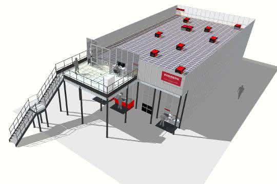 Neues AutoStore-Lager für Lohmann & Rauscher von Element Logic