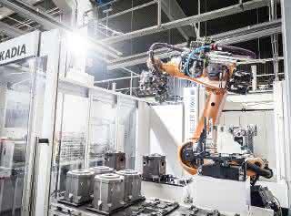 Entgrat-Automatisierungs-Zelle