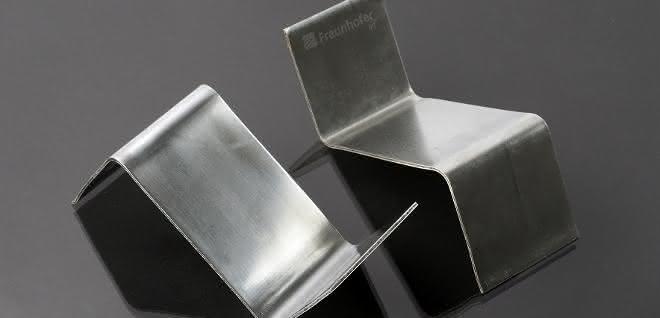 S-Profil mit Flachs-Polylactid-Kern und Aluminium-Decklage
