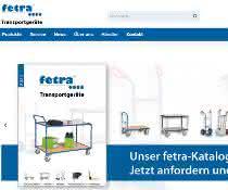 Neue fetra Website mit Anbindung ans Warenwirtschaftssystem