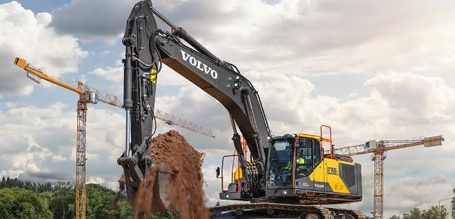 Angebotsspektrum erweitert: Neuer Volvo-Bagger für die 35-Tonnen-Klasse