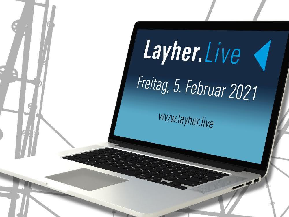 """Layher setzt beim Gerüstbau auf """"Layher.live"""""""