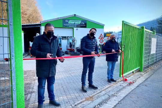 Baumaschinen-Vermietung: Gerach eröffnet neue Mietstation