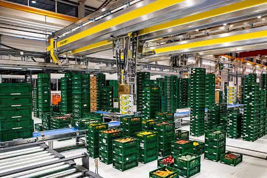 Modernes Logistikzentrum: Edeka vertraut auf Automatisierungs-Lösung von Cimcorp