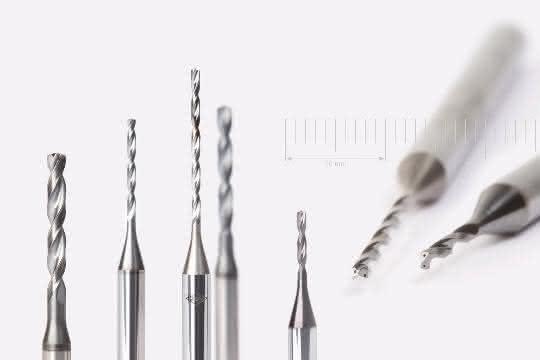 Mapal-Vollhartmetallbohrer: Durchmesser ab 1 mm mit Innenkühlung bohren