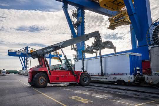 Duisport und Cargobeamer holen gemeinsam Verkehr auf die Schiene