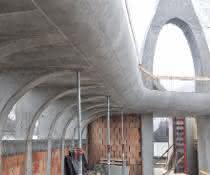 Schalungselemente: Ein filigranes Bauwerk für Budapest