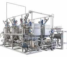 umweltfreundliche verfahrenstechnische Flüssigkeitsanlage