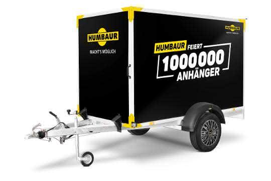 Black Edition: Eine Million Anhänger: Humbaur feiert mit Sondermodellen