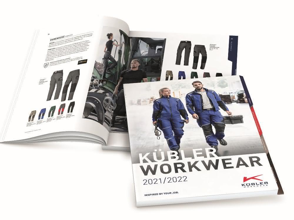 Arbeitskleidung: Neuer Kübler Gesamtkatalog erschienen
