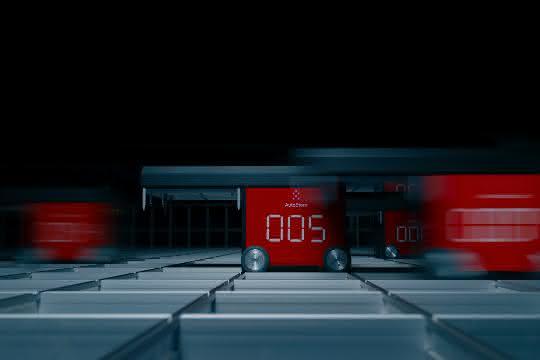 Routenplanung erhöht Roboter-Effizienz und Systemdurchsatz