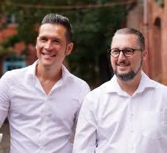 Ramon Bartl und Lutz Kogel