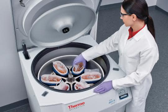 Thermo Scientific CentriPAK BPC mit Sorvall BIOS 16