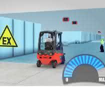 Ex-Schutz: Linde Material Handlings Assistent für intelligente Unfallverhütung