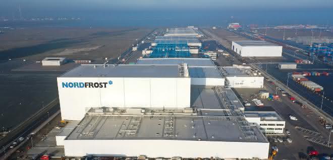 Neuer Hygienebereich am Nordfrost-Terminal fertig