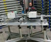 euroTECH baut Hebegerät für die Firma Storemaster