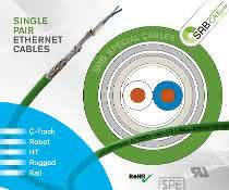 Anzeige: Single Pair Ethernet Leitungen für hohe mechanische Belastungen in Schleppketten & Robotern